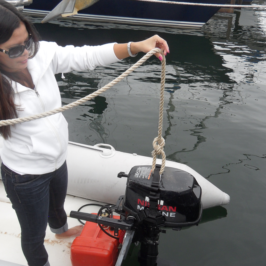 Outboardlift Outboard Motor Lifting Harness
